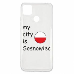 Xiaomi Redmi 9c Case My city is Sosnowiec