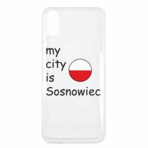 Xiaomi Redmi 9a Case My city is Sosnowiec
