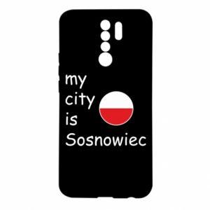 Etui na Xiaomi Redmi 9 My city is Sosnowiec
