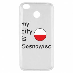 Xiaomi Redmi 4X Case My city is Sosnowiec