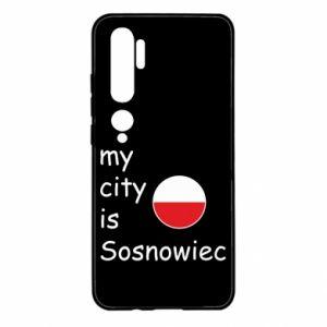 Xiaomi Mi Note 10 Case My city is Sosnowiec