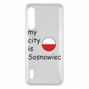 Xiaomi Mi A3 Case My city is Sosnowiec