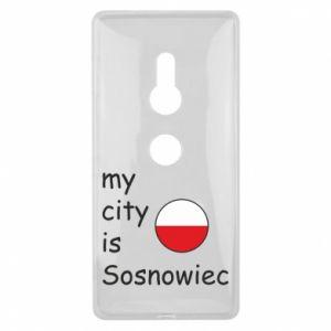 Sony Xperia XZ2 Case My city is Sosnowiec