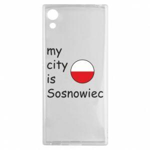 Sony Xperia XA1 Case My city is Sosnowiec