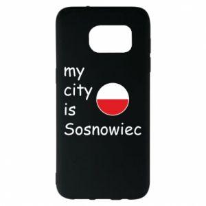 Samsung S7 EDGE Case My city is Sosnowiec