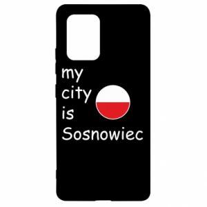 Samsung S10 Lite Case My city is Sosnowiec