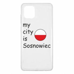 Samsung Note 10 Lite Case My city is Sosnowiec