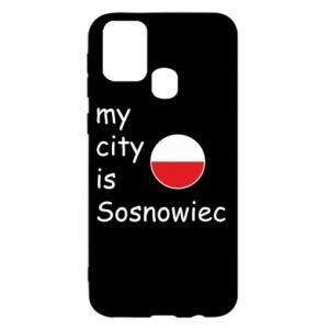Samsung M31 Case My city is Sosnowiec