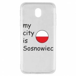 Samsung J7 2017 Case My city is Sosnowiec