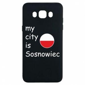 Samsung J7 2016 Case My city is Sosnowiec