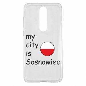 Nokia 5.1 Plus Case My city is Sosnowiec