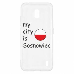 Nokia 2.2 Case My city is Sosnowiec