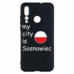 Huawei Nova 4 Case My city is Sosnowiec
