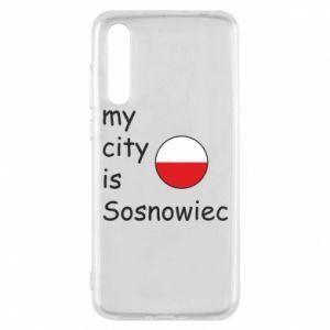 Huawei P20 Pro Case My city is Sosnowiec