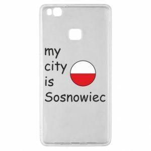 Huawei P9 Lite Case My city is Sosnowiec