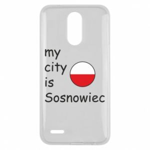 Lg K10 2017 Case My city is Sosnowiec
