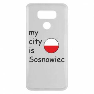 LG G6 Case My city is Sosnowiec