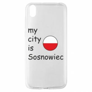 Huawei Y5 2019 Case My city is Sosnowiec