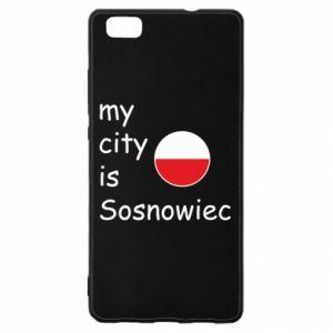 Huawei P8 Lite Case My city is Sosnowiec