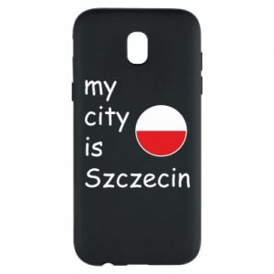 Etui na Samsung J5 2017 My city is Szczecin