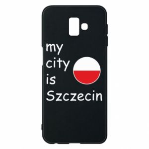 Etui na Samsung J6 Plus 2018 My city is Szczecin