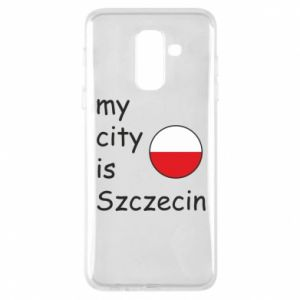 Etui na Samsung A6+ 2018 My city is Szczecin