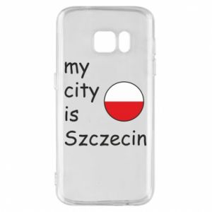 Etui na Samsung S7 My city is Szczecin