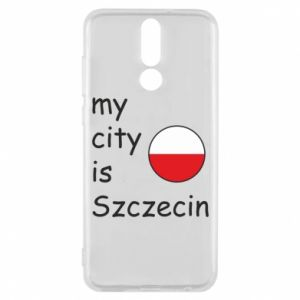 Etui na Huawei Mate 10 Lite My city is Szczecin
