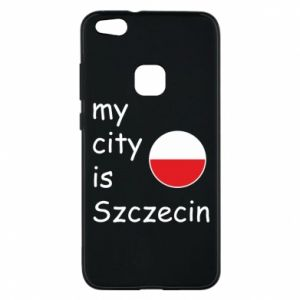 Etui na Huawei P10 Lite My city is Szczecin