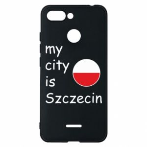 Etui na Xiaomi Redmi 6 My city is Szczecin
