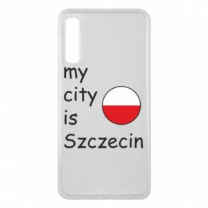 Etui na Samsung A7 2018 My city is Szczecin