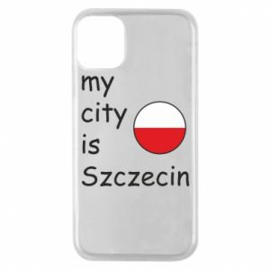 Etui na iPhone 11 Pro My city is Szczecin