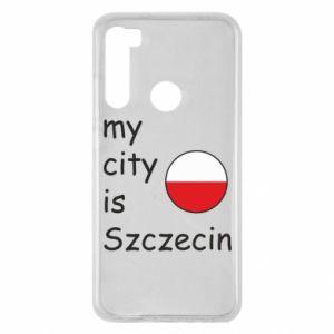 Xiaomi Redmi Note 8 Case My city is Szczecin