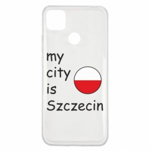 Xiaomi Redmi 9c Case My city is Szczecin