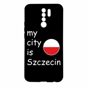 Etui na Xiaomi Redmi 9 My city is Szczecin