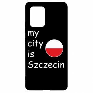 Samsung S10 Lite Case My city is Szczecin