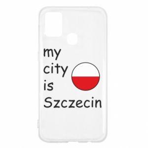 Samsung M31 Case My city is Szczecin