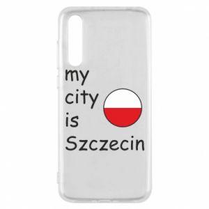 Huawei P20 Pro Case My city is Szczecin
