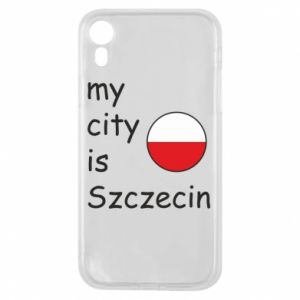 Etui na iPhone XR My city is Szczecin