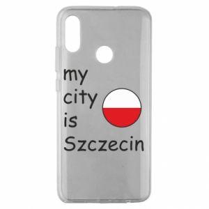 Huawei Honor 10 Lite Case My city is Szczecin