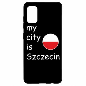 Samsung A41 Case My city is Szczecin