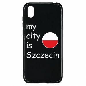 Huawei Y5 2019 Case My city is Szczecin