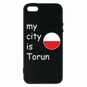 iPhone 5/5S/SE Case My city is Torun