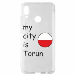 Huawei P Smart 2019 Case My city is Torun
