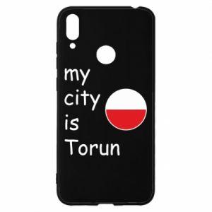 Huawei Y7 2019 Case My city is Torun