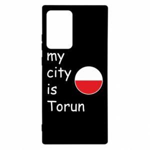 Samsung Note 20 Ultra Case My city is Torun