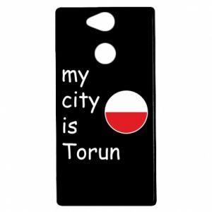 Sony Xperia XA2 Case My city is Torun