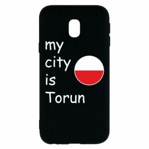 Samsung J3 2017 Case My city is Torun