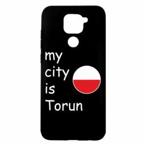 Xiaomi Redmi Note 9 / Redmi 10X case % print% My city is Torun