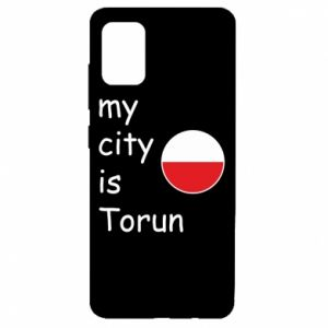 Samsung A51 Case My city is Torun